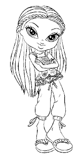 bratz coloring pages bratz coloring