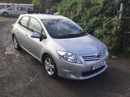 used toyota auris diesel for sale motors co uk