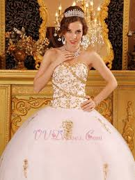 Wedding Dress Designers List Designers List White Quinceanera Dress With Golden Details