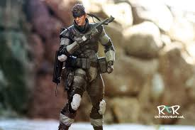 Solid Snake Halloween Costume Review Play Arts Kai Metal Gear Solid Snake Rad Toy Review