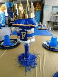 royal crown royal blue and gold crown prince crown centerpieces