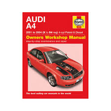 haynes manual audi a4 1 8t 2 0 petrol 1 9 turbo diesel 01 04 x to