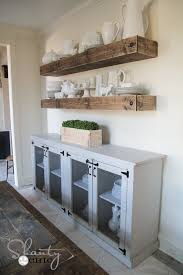 Free Shelf Woodworking Plans by Diy Sideboard Free Woodworking Plans Woodworking Plans And