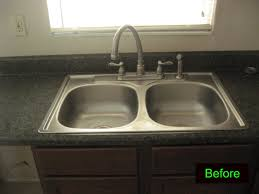 Bradenton Kitchen Sink And Cabinets Repaired New Kitchen Sink - Kitchen sink paint
