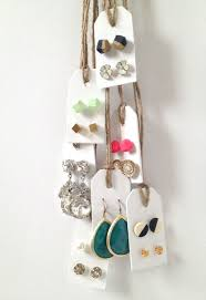 make your own earrings studs 12 inexpensive ways to organize your stud earrings gurl