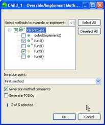 zend framework 2 override layout zend studio online help overriding implementing methods zend
