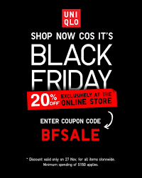best black friday deals online 20q5 uniqlo online store black friday promotion lets you save 20 with