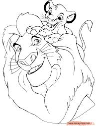 emejing lion king coloring pages ideas podhelp