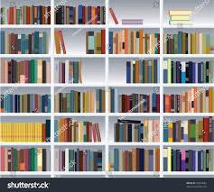 Modern Bookshelf by Vector Modern Bookshelf Stock Vector 53604982 Shutterstock