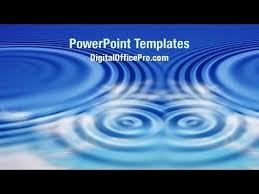 Water Powerpoint Templates by Water Ripples Powerpoint Template Backgrounds Digitalofficepro