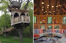 Tree House Home Designer Makes Luxury Treehouses Complete With Tubs And Mood