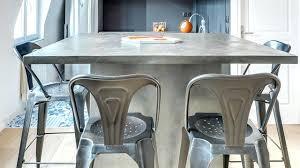 cuisine en beton plan de travail beton cire inconvenients contemporain cuisine by