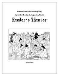 1565 america s real thanksgiving reader s theater by robyn gioia