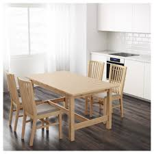 ikea norden extendable table 1 extension leaf included new