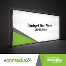Outdoor Light Box Signs Light Up Box Sign Illuminated Shop Store Commercial Outdoor