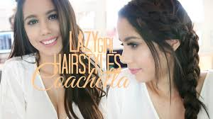 26 lazy hairstyling hacks quick u0026 easy hairstyles for coachella u0026 spring lazy