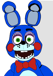 colored toy bonnie sketch by swigleshalleydrally1 on deviantart