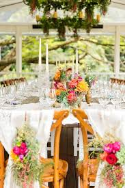 Wedding Reception Vases Colorful Outdoor Wedding Idea In Queensland Modwedding