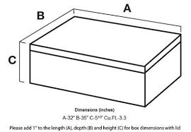 How To Read Dimensions | how to read product dimensions of a box or a book