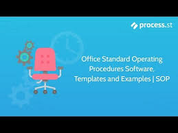 sample standard operating procedure templates al