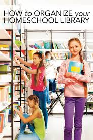 you asked how to organize your homeschool library u2014 home