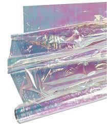 iridescent cellophane roll 30 x10 ft
