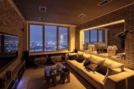 apartment inside night and apartment interior nightstylish laconic