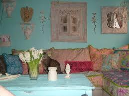 shabby chic slipcovered sofa eclectic living room new york