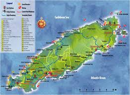 Map Of Caribbean Island by Top Ten Things To Do In Caribbean Island Tobago The Travel Leaf