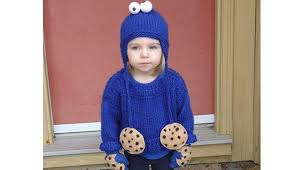 homemade cookie and cookie monster halloween costumes inhabitots