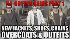 new clothes overcoats jackets chains and shoes gtao online