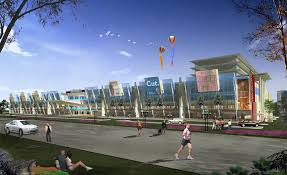 proposed shopping mall architectural design modern minimalist