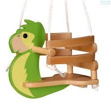 siège balançoire bébé la balançoire perroquet pour bébé petit enfant wickey fr