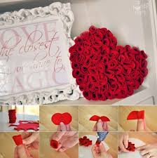 pretty rose valentine home decorations feature rose heart shape