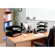 Office Desk Tidy 5 Office Desk Tidy With 6 Compartment Black 295861
