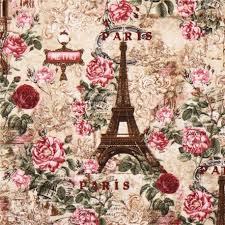 imagenes de rosas vintage tela beis parís torre eiffel rosas vintage retro de timeless