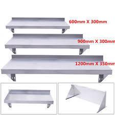 Stainless Steel Kitchen Shelves by Stainless Steel Shelves Ebay