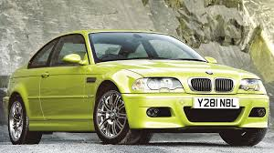 Bmw M3 Yellow Green - bmw e46 m3 botb