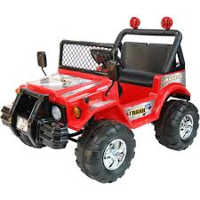 kids electric jeep kidtrax avigo traxx 12 volt electric ride on red gifts for kids