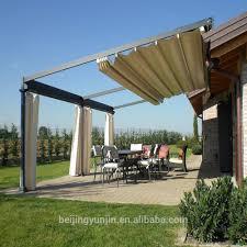 awning roof u0026 v line full cassette garden patio awning sun canopy