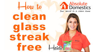 how to clean windows and mirrors streak free youtube