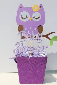 owl centerpieces manificent decoration purple owl baby shower decorations chic