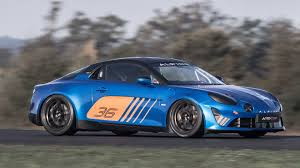 renault race cars renault reveals alpine a110 cup race car for one make series