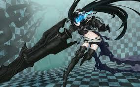 black rock shooter insane black rock shooter wallpaper zerochan anime image board