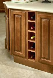 wine rack waypoint island wine rack shown in maple butterscotch