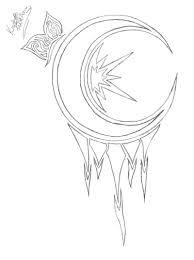 moon butterfly sketch tattoo tattoos book