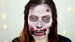 How To Do Halloween Makeup Zombie www letzmakeupblog com zombie makeup tutorial halloween 2014