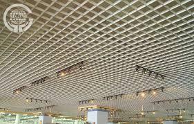 Drop Ceiling Grid by U Shape Metal Grid Ceiling Decoration Suspended Building Material