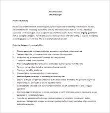 business owner job description for resume business administration job description healthcare administration
