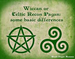 in brief some differences between wicca and celtic